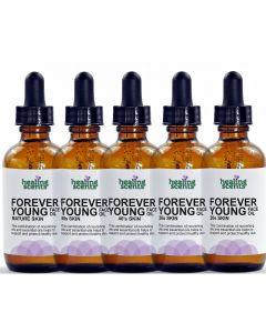Forever Young Face Oil Mature Skin 2 oz illustrated