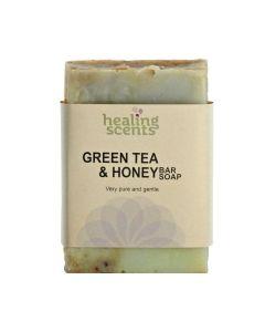 Healing Scents Green Tea & Honey Bar Soap